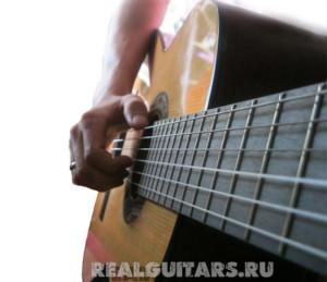 Гитара - неправильная постановка рук